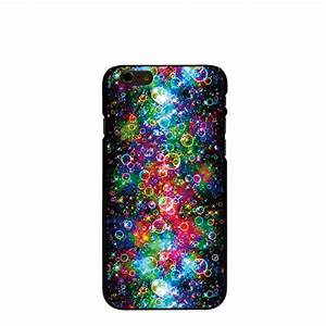 10055 Colorful bubble Hard transparent Cover cell phone ...