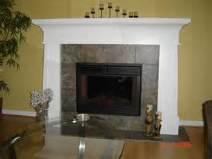 Hanging A Tv On Brick Fireplace by Painted Fireplace Mantel Modern Indoor Fireplaces