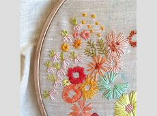 Needlework fabric shop and creative workspace in