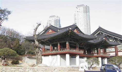 bongeun temple seoul south korea asia