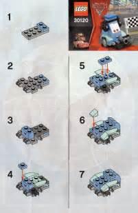 LEGO Instructions Cars Disney