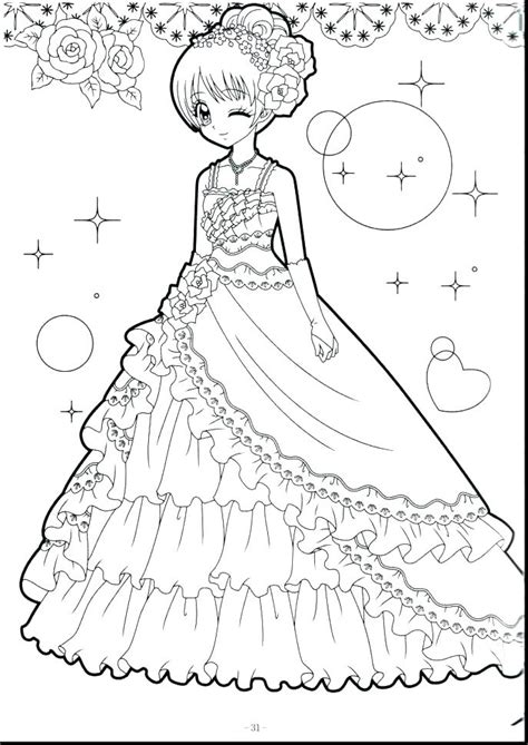 Coloring Pages Of Cute Girls at GetColorings com Free