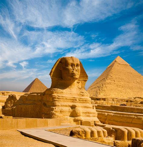 Great Pyramids In Giza Cairo Egypt Sightseeing 4 Days
