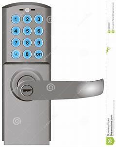 Serrure A Code Porte Exterieure : serrure de porte cod e illustration stock illustration du ~ Dailycaller-alerts.com Idées de Décoration