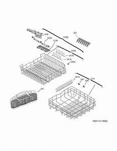 Frigidaire Fgid2474qf1b Dishwasher Parts