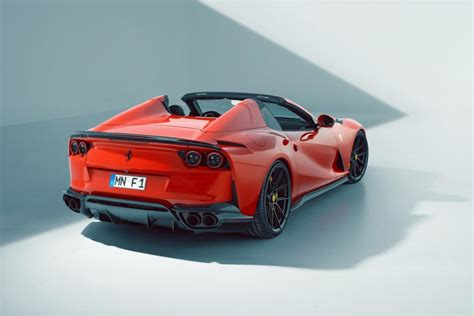 Buyers can of course select from a host of paint colors, interior trimmings, and wheel designs, but that's about the extent of the customization. Novitec Reveals 840hp Ferrari 812 GTS - GTspirit