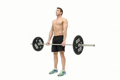 Deadlift Lose Barbell Weight Romanian Exercises Fat