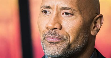 dwayne  rock johnson talks battling depression