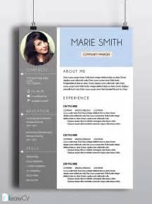 Ms Office Resume Templates Cv Resume Template Easycv Modern Resume Word