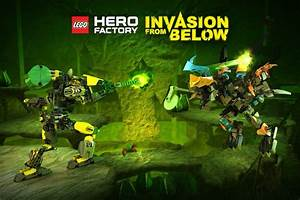Lego Hero Factory Invasion From Below To Reach The App