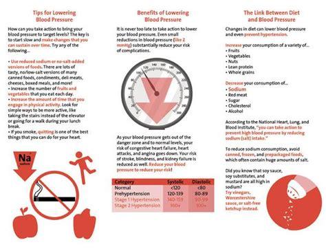 heart health brochure   blood pressure