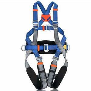 Fall Protection Adjustable Size Full Body Safety Harness Oumers Safe Belts Guide Harness For