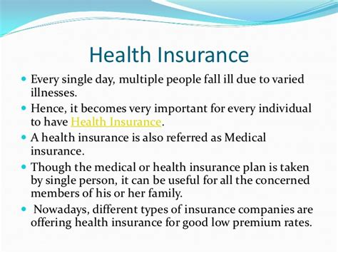 Types Of Insurance Policy