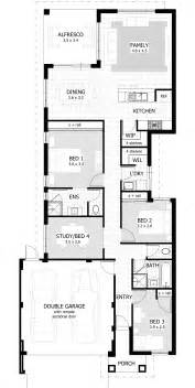Simple House Plans For Small Lot Placement by Narrow Lot Single Storey Homes Perth Cottage Home Designs