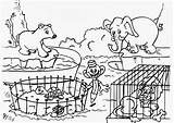Coloring Pages Zoo Animals Printable Cute Monkey Curious George Craft sketch template