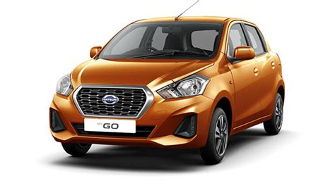 Datsun Go 2019 by Updated Datsun Go And Go Unveiled Gets Touchscreen With