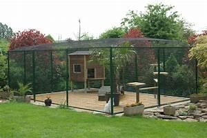 Construire Enclos Pour Chats : cloison maison pour pas que mes chats sortent chat outdoor cat enclosure cat enclosure et ~ Melissatoandfro.com Idées de Décoration