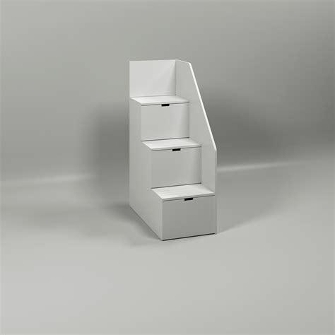 letti a con scala a cassetti letto a con scala a 3 cassetti laterale le