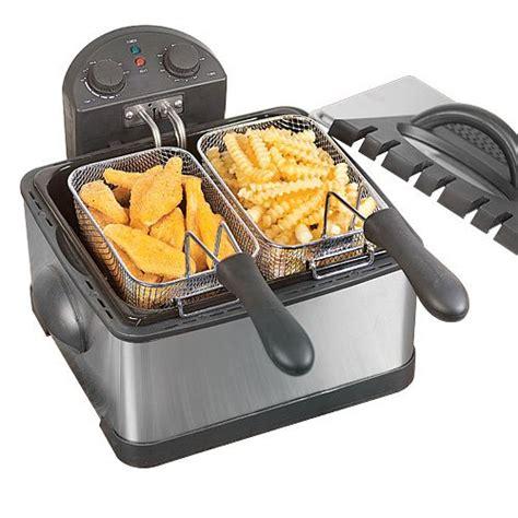 deep fryer fat dual fryers savoureux pro prices line fried cheap read