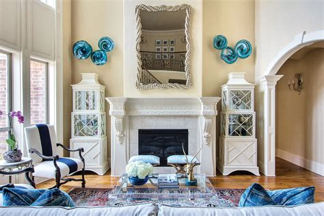 blue based redesign blends traditional and fresh d 233 cor