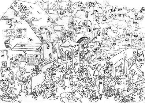 Spreekwoorden Kleurplaat Boerderij Antwoorden by O Quadro De Pieter Bruegel Spreekwoorden Os Prov 233 Rbios