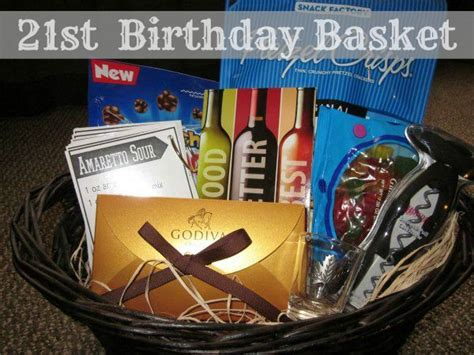 Best 25 21st Birthday Basket Ideas On Pinterest 21