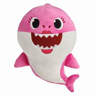 Song Babyshark Dolls Mommy Pinkfong Doll Wowwee