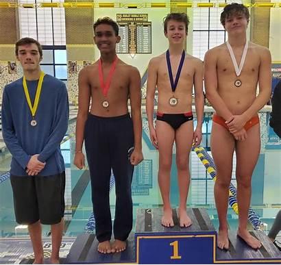 Boys Swimming Diving Dive Varsity Team Mooresville