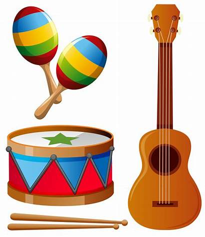 Musical Instruments Different Types Vector Clipart Keywords