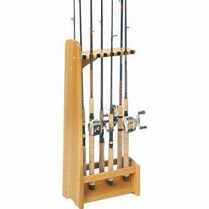 Wood Pro: Get Woodworking projects fishing rod holder