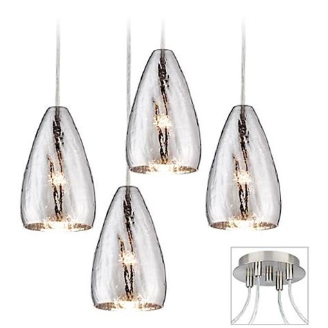 possini design possini euro design portico brushed nickel 4 swag chandelier x9884 w6676 ls plus