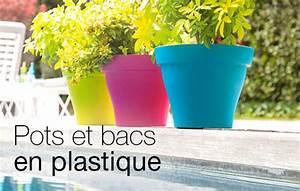Jardiniere Plastique Gros Volume : bac pot en plastique contenants pour plantes ~ Dailycaller-alerts.com Idées de Décoration