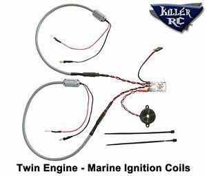 Super Bee Kill Switch Twin Engine Car    Boat Kit  U2013 Killer Rc