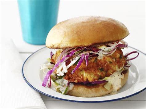 creole crab burger recipe food network kitchen food