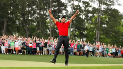 Masters 2019: Tiger Woods back on top again with ...