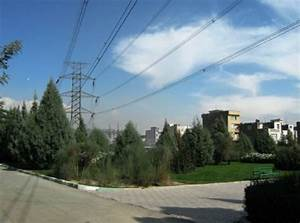 230kv Overhead Transmission Line Near A Public Park