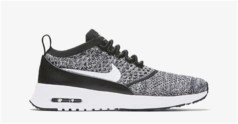 nike air max thea flyknit oreo cool sneakers