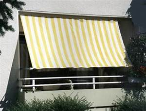 Sonnenschutz Für Den Balkon : balkon sonnensegel 270x140 cm sonnenschutz in ~ Michelbontemps.com Haus und Dekorationen