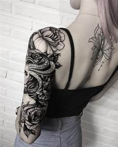 Tatouage Demi Bras Homme : tatouage bras femme l 39 art d 39 accessoiriser son corps d une mani re cool ~ Melissatoandfro.com Idées de Décoration