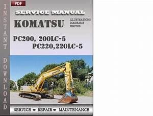 Komatsu Pc200  200lc