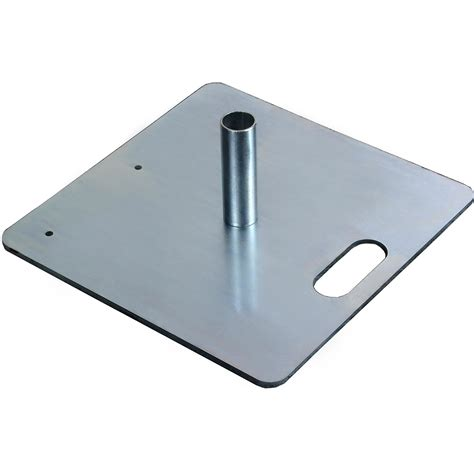 Pipe And Drape Base - the screen works 35 lb base with peg for pipe and 35lbbase peg