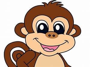 Baby Monkey Cartoon Drawings