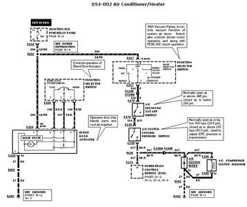 2005 F250 Ac Diagram by Ac Clutch Relay Diagram Where Is Located Fixya