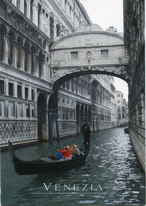 Canal Boat Italy by Italy Venice Canal Boats Remembering Letters And Postcards