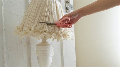 how to make shabby chic l shades shabby chic inspired lshade white lace cottage