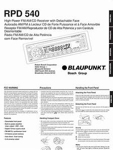 Blaupunkt Radio Manual
