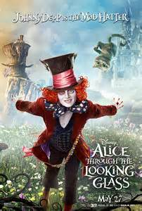 Mad Hatter Alice through the Looking Glass 2016