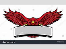 Eagle Mascot Grip Sign Stock Vector 263474282 Shutterstock
