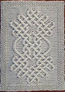 Celtic Knot Chart Celtic Motif Knot 64 Pattern By Devorgilla 39 S Knitting