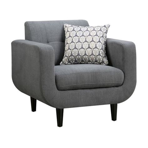 modern chaise lounge modern chaise lounges coaster stansall modern accent chair in gray 505203